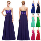 New Chiffon Strapless Sexy Women Cocktail Party Evening Dress Bridesmaid Ball GK
