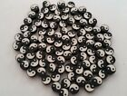 Fimo Happy Faces Yin Yang Rasta Butterfly Disc Beads Lot of 20 OR 100