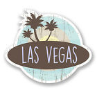 2 x 10cm Las Vegas Nevada USA Vinyl Sticker iPad Laptop Car Travel Luggage #6760