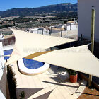 13' x 13' x 13' Triangle Sun Shade Sail Fabric Outdoor Patio Canopy Awning Cover