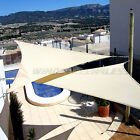 13'x13'x13' Triangle Sun Shade Sail Fabric Garden Outdoor Canopy Patio Pool Top