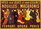 VINTAGE FRENCH OPERA THEATRE ADVERT POSTER PICTURE PRINT Size A5 to A0 **NEW**