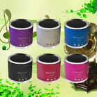Mini Wireless Portable Speaker FM Radio Support USB Micro SD TF Card MP3 Player