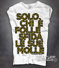 Women's T-Shirt Impossible Coil Man Coilman * only Who Is Folle Sfida le Sue * *
