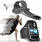 Sports Armband Strap Gym Running Jogging Case Cover Pouch+Headset Handsfree