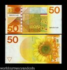 NETHERLANDS 50 GULDEN P96 1982 EURO MAP UNC RARE DUTCH CURRENCY MONEY BILL NOTE