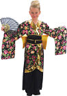 Childrens National Fancy Club Party Geisha Kimono Girl Costume Chinese Outfit UK