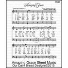 Our Daily Bread Cling Stamp Amazing Grace, Christ the Lord is Risen Hymn Collage