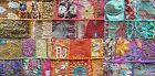 Table Runner Vintage Indian Khambadia Embroidery Patchwork Mosaic-80 x 20 cm