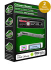 Citroen Nemo car stereo radio, Clarion CD Player play USB iPod iPhone Android