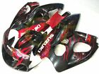 Aftermarket ABS Fairing Set for Suzuki GSXR 600 750 SRAD 96 00 Tank pad S60-7