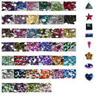 OR16-A 1000Pcs /10000Pcs Ordinary Flat Acrylic Rhinestone-3mm AB Triangle