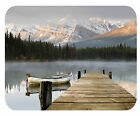 CUSTOM GLASS CUTTING BOARD PERSONALIZED-2 SIZES-MT LAKE WITH DOCK-ADD ANY TEXT
