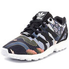 Adidas Rita Ora ZX Flux Japan Geisha Womens Satin Black Multicolour Trainers