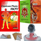 Capsicum & Herbal Plasters Instant Heat Therapy Hot Pain Relieving Muscle Injury