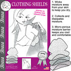 Braza Clothing Shields - Underarm Sweat Pads 10 Regular or 5 Large Pairs