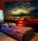 3D Sunset on the lake1A WallPaper Murals Wall Print Decal Wall Deco AJ WALLPAPER