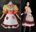 H-173 Alice Madness Returns Misstitched Kleid dress Cosplay Kostüm costume n Maß
