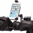 "Scooter Mirror Mount with 1"" Ball + Holder for Apple iPhone 6 6s 7 Plus 4.7 5.5"""