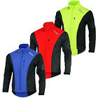 Men's Motorbike Softshell Water Resistant Jackets Wind Proof Cycling Outer Wear