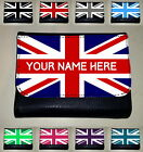 UNION JACK MONEY PURSE / WALLET (PERSONALISED / CUSTOM NAME GIFT)