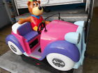 HUGGY BEAR COIN OPERATED KIDDIE RIDE , WORKING