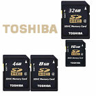 TOSHIBA SDHC Standard SD 4GB 8GB 16GB 32GB Class4 Camera Memory Card Wholesale E