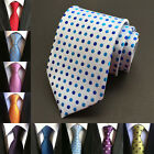 Hot Classic Silk Dot Tie Wedding Casual Necktie Party Men Ties Jacquard Fashion