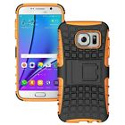Samsung Galaxy S7 Dual Layer Shockproof Cover Hybrid Rugged Case w/ Kickstand