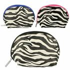 Bulaggi Make Up Bags Zebra Print