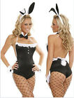 Costume travestimento da coniglietta body doll festa carnevale donna