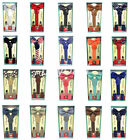 New Matching Clip-on Suspender  Bowtie for Kids Toddler Boys Girls w/ Gift Box