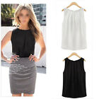 Hot New Women Vest Sprng Summer Loose Sleeveless Casual Tank T-Shirt Blouse Top
