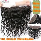 Water Wave Lace Frontal 13x4 Malaysian Virgin Remy Human Hair Ear to Ear Closure