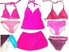 Sunsets Light Pink, Pink, Fuschia, Violet & Grape Swimsuits & Separates NWT