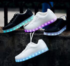 Unisex LED Light Up Luminous Shoes Sportswear Sneaker Breathing Shoes Casual