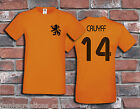 Johan Cruyff 70's Holland Football Soccer Dutch Ajax Classic T Shirt Tee Winner