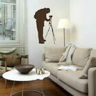 Photography Wall Stickers! Photographer Transfer / Removable Vinyl Decal RA246