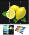 Mobile Phone Back Cover Case for Lenovo / Tempered Glass / Stylus