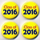 Class of 2016 Badges 25mm 2. 3. 4. 5. 6. 12. 25 Pack School College Leaver Badge