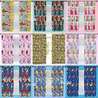 """Official Licensed Character Pleated Curtains 54"""" Or 72"""" Drop Kids Boys Girls"""