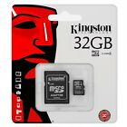 Kingston 32GB microSDHC microSD Class 4 Memory Card for Dash Camera with Adapter