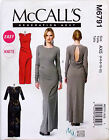 MCCALL'S SEWING PATTERN DRESS CLOSE FIT PULLOVER 3 SLEEVE TYPES SZ 4-12 # M6791