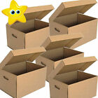 Large Archive Storage Boxes Strong Cardboard Lids Box Handles Removal Filing A4