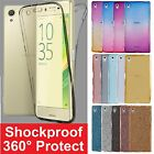 Kyпить Shockproof 360° Protective Silicone Clear Case Cover For Sony Xperia Phones на еВаy.соm