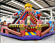 30x30x25 Commercial Inflatable Bob The Builder Playground Combo Slide Bouncer