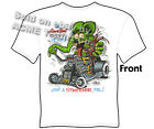 Ratfink T Shirts Hot Rod Clothes Ford T Shirt Big Daddy Clothing Heartbeat Stops