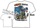 Rat Fink T Shirt Chevy Breakfast Of Champions Big Daddy Roth Tee M L XL 2XL 3XL