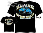 Hot Rod T Shirts 40 41 Willys Gasser Blairs Speed Shop Drag Racing Tee 1940 1941