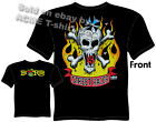 Ed Big Daddy Roth T Shirt Street Racer Skull Iron Cross Rat Fink M L XL 2XL 3XL
